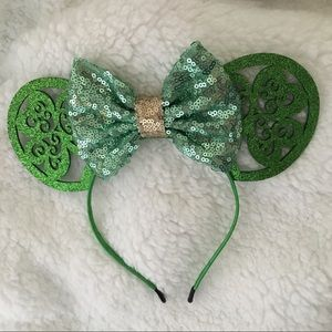 Minnie Mouse Ears Headband St. Patrick's Day
